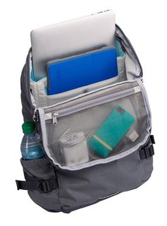STM's Drifter Laptop Backpack This design from the Australian company offers dual sleeves for tablet and computer, detachable raincover and more #laptop #bag #backpack