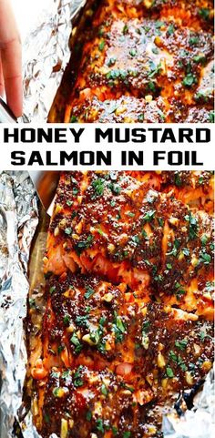 This Honey Mustard Salmon recipe features a homemade honey mustard sauce that is super delicious (and easy to adapt if you like to go heavie. Homemade Honey Mustard, Honey Mustard Salmon, Honey Mustard Sauce, Salmon Recipes, Chicken Recipes, Healthy Breakfast Recipes, Healthy Recipes, Meals For One, Cravings
