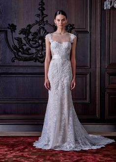 The Breathtaking Spring 2016 Wedding Dresses From Bridal Fashion Week - Spring 2016  - from InStyle.com
