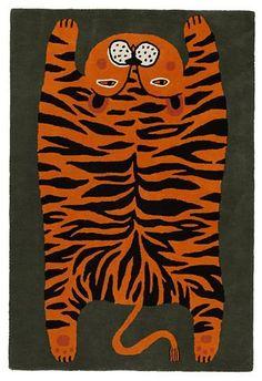 Don't feed the rug #tiger #rug Textiles, Textile Patterns, Kids Room Art, Art For Kids, Tiger Rug, Tibetan Rugs, Art Curriculum, Ancient Art, Asian Art