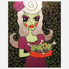 How Sweet Original Art now featured on Fab.