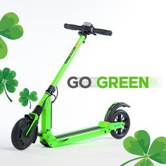 We're all dressed in green today  #StPatricksDay #GoGreen #RideUScooters uscooters.com