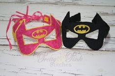 ITH Bat Mask Applique Embroidery Design