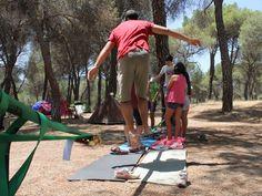 EcofunCamp de #PasalaRisa, #campamento de circo y ecología en #Pelayos de la Presa https://www.campamentos.info/Campamentos-de-verano/Espana/Madrid/Ecofun-Camp-en-Pelayos-de-la-Presa-667