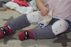 une de mes amies m'a demandé de tricoter des jambières pour sa fille et, avant de lui préparer, j'ai conçu un premier modèle sur Louison ! Tuto des Jambières pour petites guibolles (18-24 mois) Matériel : aiguilles circulaires (ou droites) n°5 Technique...