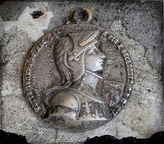 Vintage Joan of Arc medal