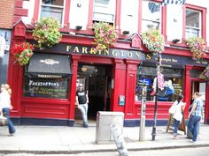 Farrington Pub Dublin, Ireland