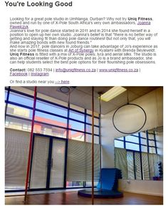 #StudioSpotlight #inpoleposition Founded In, Pole Dancing, South Africa, How To Look Better, Studios, Positivity, Pole Dance, Studio, Pole Fitness