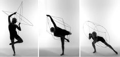 """Body Forms in Space & Movement"" by Jenny Parker London"