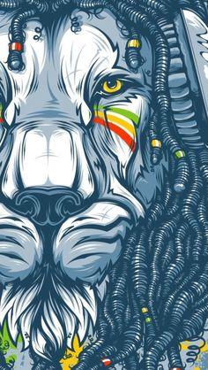 20 Best Illustration of 2014 Downgraf street and graffiti art inspiration digital media arts college www. Art Pop, Graffiti Art, Sf Wallpaper, Dope Wallpaper Iphone, Dope Wallpapers, Rasta Lion, Rasta Art, Marijuana Art, Medical Marijuana