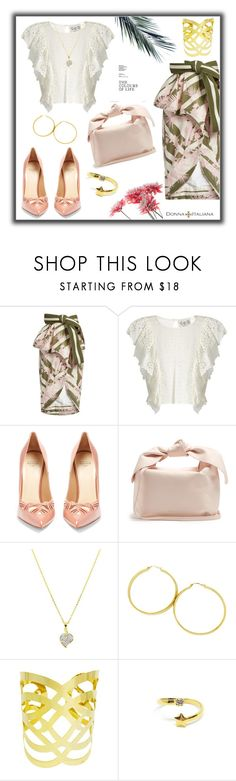 """Tied Up"" by freida-adams ❤ liked on Polyvore featuring Johanna Ortiz, Sea, New York, Francesco Russo and Simone Rocha"