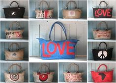 Ali Lamu- makes the most amazing bags out of old sails