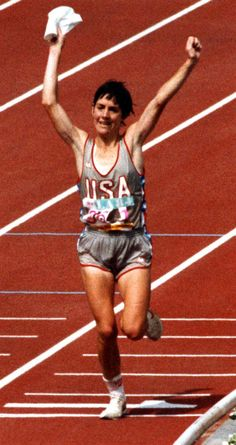 11 Women You Didn't Know Paved the Way: First to Win the Women's Marathon in the Olympics: Joan Benoit Samuelson