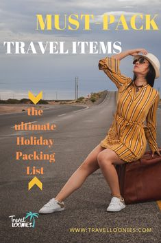Must-pack travel items for every Holiday Holiday Packing Lists, Packing List For Travel, Travel Items, Us Travel, Travel Hacks, Travel Essentials, Packing Checklist, How Beautiful, Trip Planning