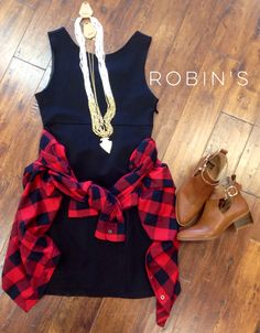 #fall #hipster #shoprobins #dress #black #boutique