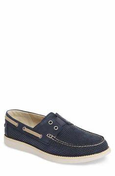 8bc61069709 Tommy Bahama Relaxology Mahlue Boat Shoe (Men) Mens Slip On Loafers