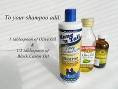 Homemade Hair GROWTH Shampoo   Tips de Belleza, Maquillaje, Salud y Mas