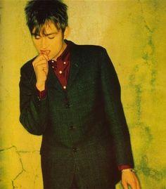 Damon in a suit