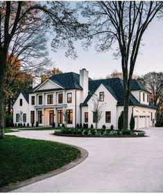 def my dream home   xgslxxx Dream Home Design, My Dream Home, House Design, Dream House Exterior, Dream House Plans, House Exterior Design, Big Houses Exterior, House Exteriors, Interior Design
