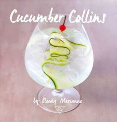 Cumcumber Collins by Bloody Marianne #cocktail #mixology