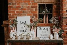 Ross and Katie's Handmade Blush and White Warwickshire Barn Wedding by D and A Photography Wedding Entrance Table, Wedding Welcome Table, Card Table Wedding, Barn Wedding Venue, Wedding Guest Book, Wedding Signs, Our Wedding, Wedding Ideas, Barn Weddings