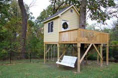 DIY Treehouse IDeas and Plans, so inspiring for you.