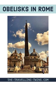 Obelisks in Rome - one of biggest Rome treasures    Rome has the most obelisks in the world! 13 true obelisks, stone pillars made from single blocks of stone. Ancient Egyptian Cities, Emperor Augustus, Santa Maria Maggiore, Stone Pillars, Fountain Design, Obelisks, Piazza Navona, Nile River, Ancient Romans