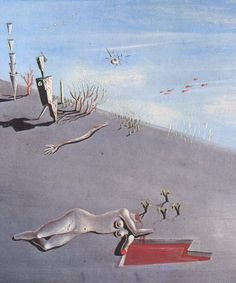 Salvador Dali - Honey Is Sweeter Than Blood (partial)