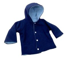 Infant/Toddler Coat Tutorial & free pattern (size 3M - 24M)
