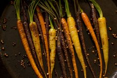 Coriander Roasted Organic Baby Carrots