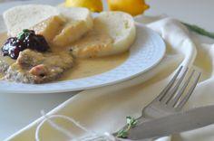 Falošná sviečková na smotane. Mashed Potatoes, Ale, Dinner, Cooking, Ethnic Recipes, Food, Whipped Potatoes, Dining, Kitchen
