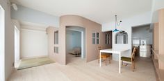 Photography: Takumi Ota   This project is the renovation of a unit in a…