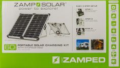 Zamp Solar 60 Watt Portable  THESE TYPE SMALL SOLAR DEVELOPERS POPPING UP, A GOOD SIGN...AS WELL AS MEGA APPLICATIONS FOR INDUSTRY SHOWN ON THIS BOARD. CHECK IT OUT AND SEE HOW REASONABLE $ WISE TO GO 'OFF GRID W SAINTY'