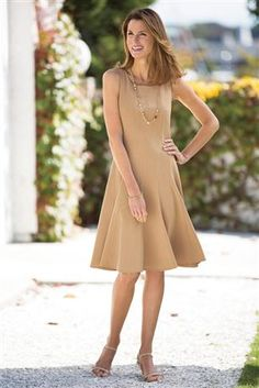 Fit-and-flare-Dress  For mother-of-the-bride?
