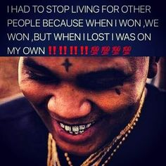 Thug Quotes, Gangsta Quotes, Rapper Quotes, Baddie Quotes, Real Life Quotes, Fact Quotes, Tweet Quotes, Kevin Gates Quotes, Quotes Gate