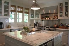 great kitchen - clean, bright and modern - not filled with clutter and knick knacks