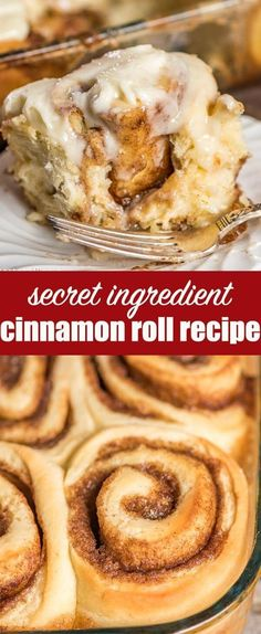 The best homemade cinnamon rolls ever! If you love gooey cinnamon buns, here's the secret ingredient. Everyone raves about these homemade yeast rolls. Homemade Cinnamon Rolls {Plus the MUST-HAVE secret ingredient!} #cinnamonrolls #breakfast via @tastesoflizzyt