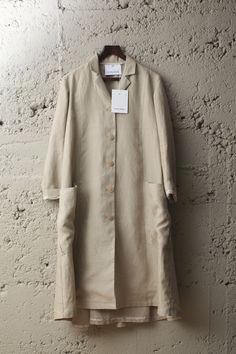 Duster coat 100% Irish linen