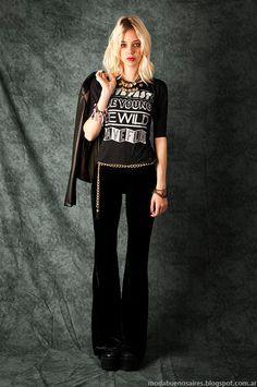 Pantalones de mujer oxford Mondiu invierno 2015.