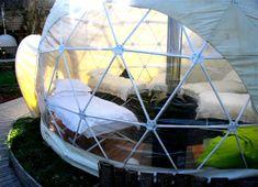 The Dome Garden, vacaciones en un campamento futurista en mitad del bosque | Q