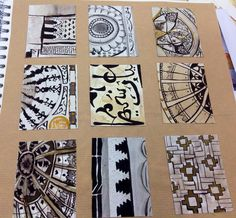 Unit 2 view finder drawings Textiles CNC College preston