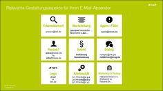 Relevante Gestaltungsaspekte für Ihren #EMail-Absender