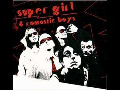 super girl & romantic boys-szkło