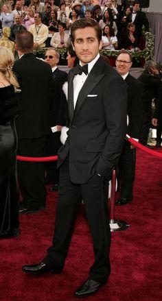 Men who look good in suits.