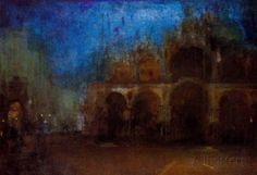 James McNeil Whistler - Nocturne in Blue and Gold 1