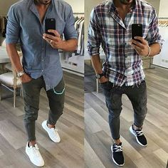 Pick an outfit you'd wear today 1 or 2 @vincenzoragnacci