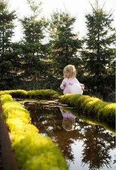 """outdoor raised pond...""""Wij Trädgårdar (Wij Gardens) in the Sindbis region of Sweden has long been a design inspiration..."""""""