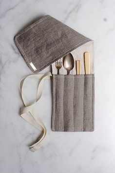Ambatalia utensil wrap, £23  An environmentally friendly riposte to disposable cutlery, this utensil wrap from textile designer Molly de Vries makes it easy to carry a full complement of tableware wherever you go  quitokeeto.com