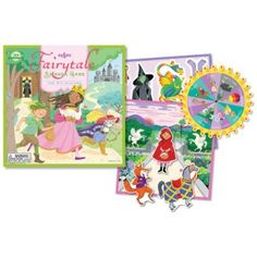 Fairytale Spinner Game - A unique toy for kids that combines active game play with story telling.