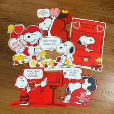 Vintage 1976 Snoopy Peanuts Linen Wall Calendar Created By Charles Schultz